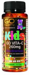 Kids Vita-C 260mg Blackcurrant (Go Healthy NZ)